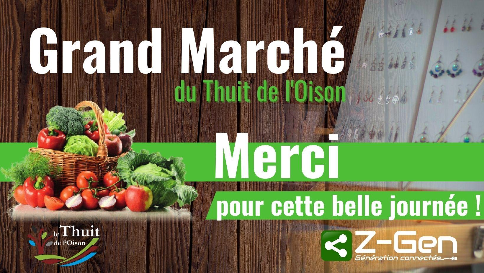 Affiche Grand Marché